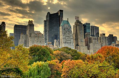 Viajes a Nueva York: atardecer en Central Pak